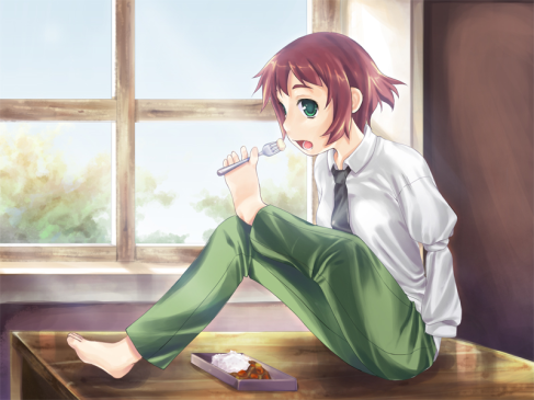 Katawa Shoujo: Rin's Route Review: An Artist's Dilemma and Self Acceptance